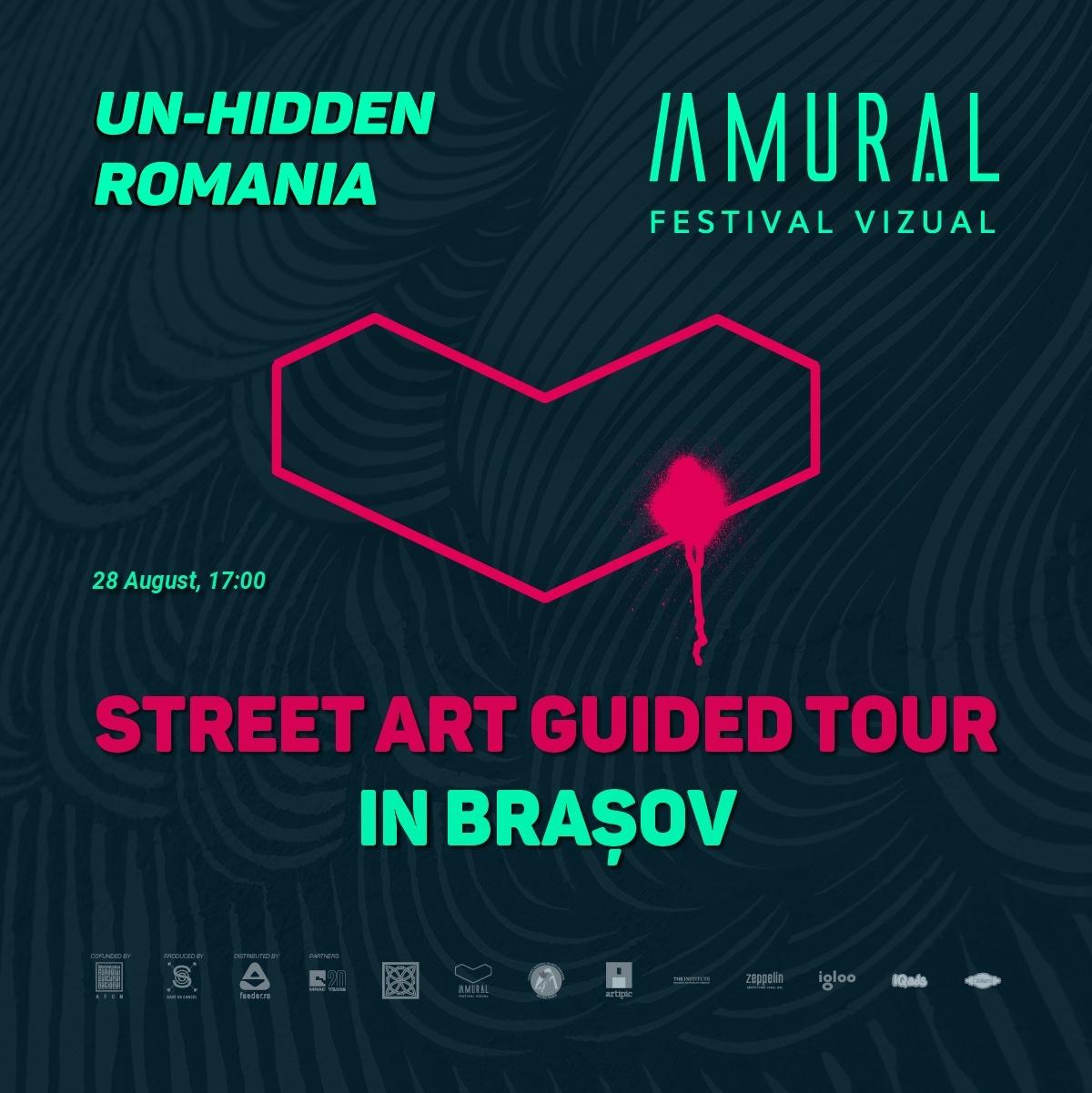 2021 Un-hidden Romania Amural Street art tour