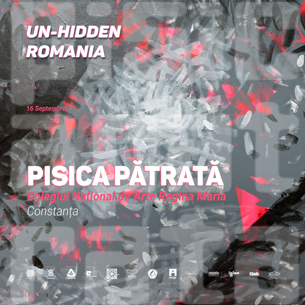 Un-hidden Romania invites Pisica Pătrată to paint in Constanta