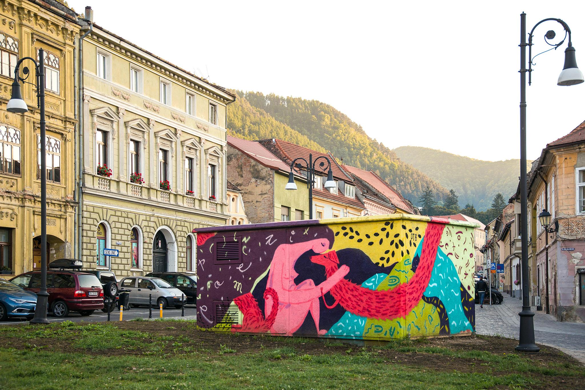 2021 SANDI + OANA - Un-hidden Romania x Amural, Brasov, foto Orsolya Balint