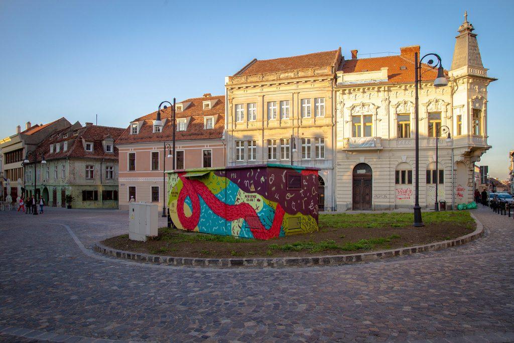 Un-hidden Romania x Sandi at Amural Brasov